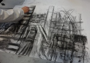 Architecture Student Drawing