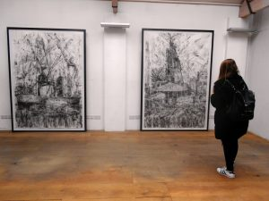 Site Specific Exhibition - Eleven Spitalfields Gallery April 2015